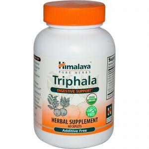 Triphala is verkrijgbaar als ayurvedisch kruidensupplement (Foto: Himalaya)