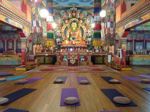 Meditatie in de tempel, langs de angst om deze te overwinnen