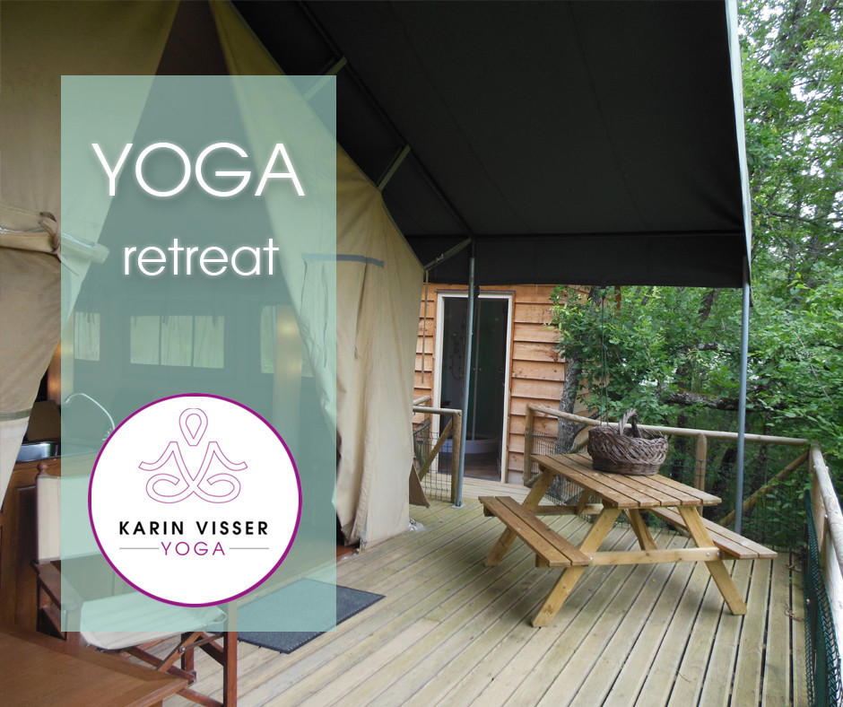Yoga retreat van Karin Visser